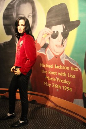 Madame Tussauds New York : Jackson