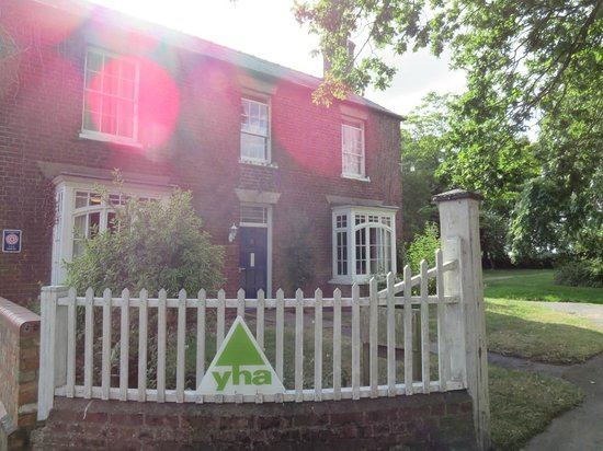 YHA Thurlby: View from the road