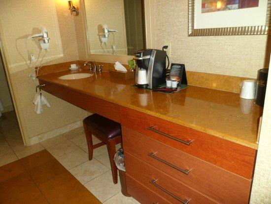 Rio All-Suite Hotel & Casino: dressing room, Rio
