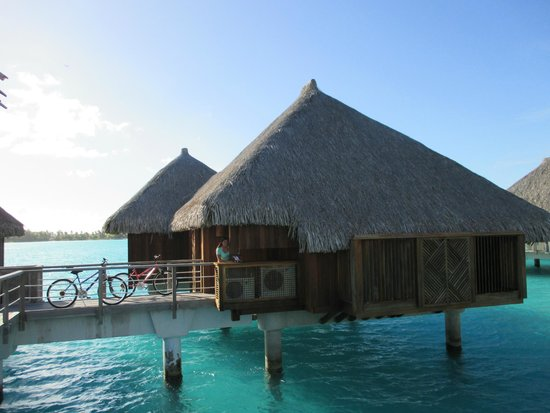 The St. Regis Bora Bora Resort : Our room!