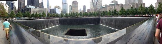 Mémorial du 11-Septembre : A moving tribute - sad but respectful. ~ the museum is brilliant