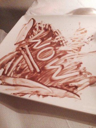 La Maison: Chocolate mousse.. The aftermath!
