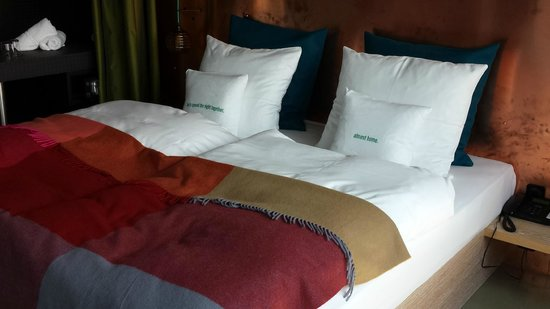 25hours Hotel Bikini Berlin : Comfy bed