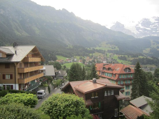 Alpenruhe Kulm Hotel: View from room