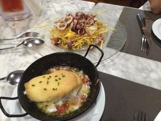 Tercer Temps Gastrotaverna: Huevos estrellados y bacalao