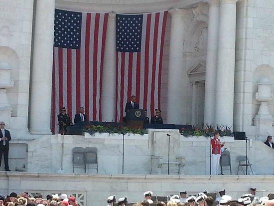 Tumba de los desconocidos: 2014  Presidential Memorial Day Address
