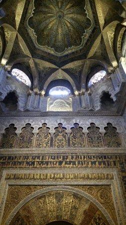 Mezquita Cathedral de Cordoba: Foto en la mezquita ...por Emf