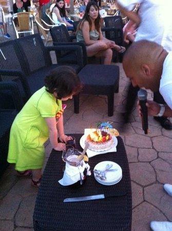 Isla Del Aire Apartments : Cumpleaños feliz!