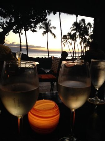 Hyatt Regency Maui Resort and Spa: Sunset in Japengo!