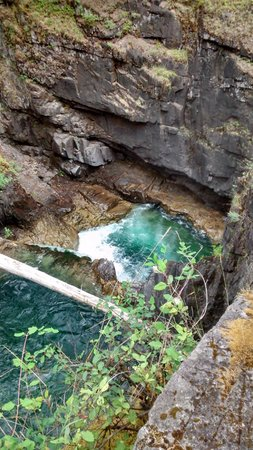 Little Qualicum Falls Provincial Park: the pitfall