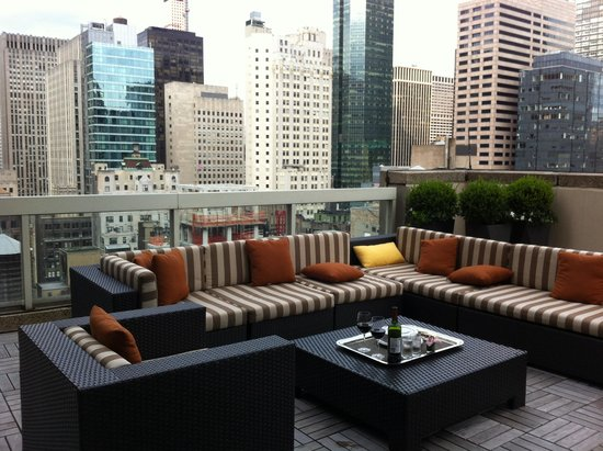 Sofitel New York: Terrace