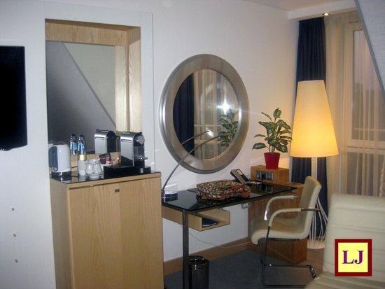 Radisson Blu Hotel, Amsterdam: Habitación Suite Junior