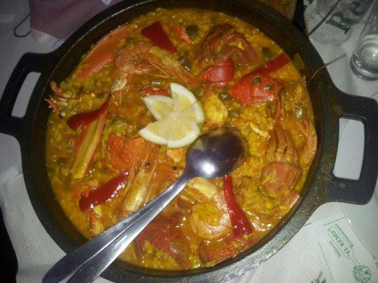 El Remo: Paella de marisco