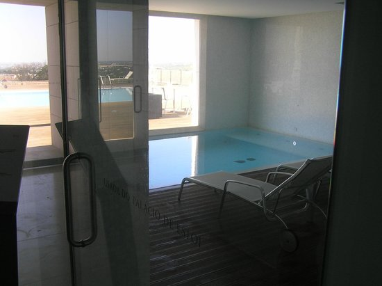 Pousada Palacio Estoi: Petit bassin intérieur