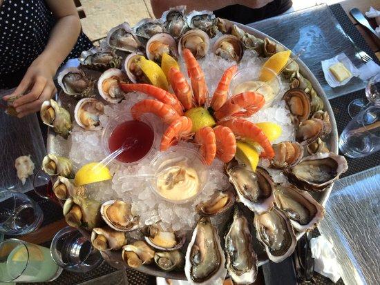 La Taverne de Maitre Kanter: Nos fruits de mer!!