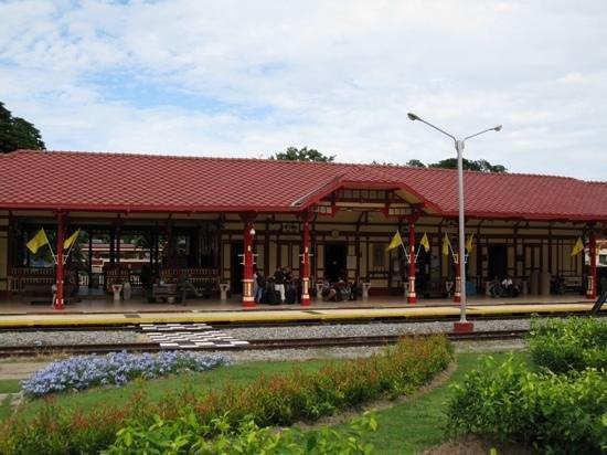 Hua Hin Railway Station: perron
