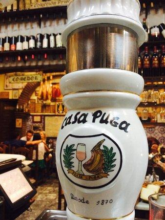 Casa Puga : Tipical spanish