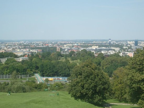 Krakus Mound: view
