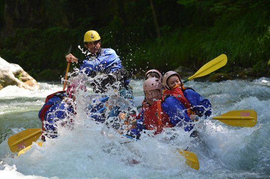 Scalea, Italy: rafting medio..
