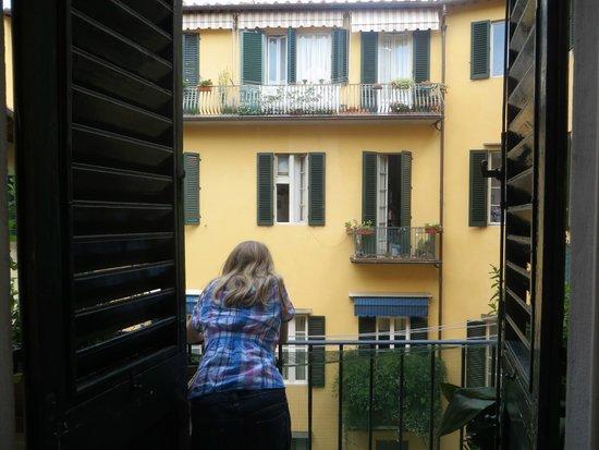 Martindago B&B: Balcony... Lovely Florence