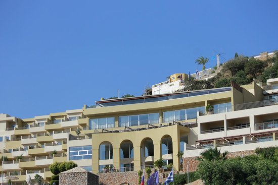 Blue Marine Resort & Spa : View from outside