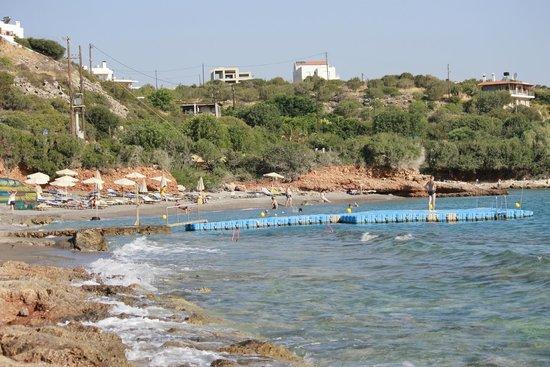 Blue Marine Resort & Spa : The beach