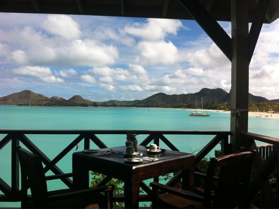 COCOS Hotel Antigua: Colazione