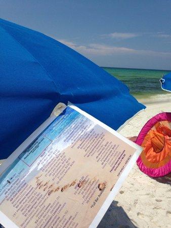 Four Points by Sheraton Destin- Ft Walton Beach: Text for beachside refreshments!