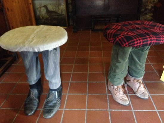 Gower Heritage Centre : Stools