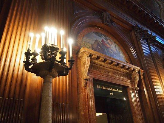 New York Public Library : Edna Barnes Salomon Room