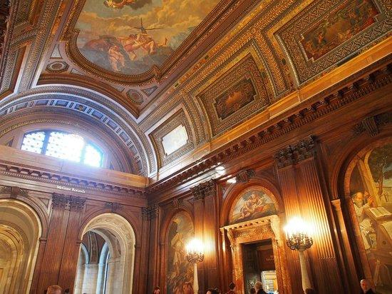 New York Public Library : Amazing frescos