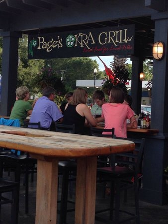Pages Okra Grill : A guaranteed excellent meal!  Whether you go for breakfast, lunch or dinner, the food is good.