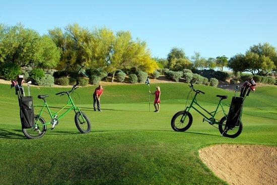 The Westin Kierland Resort & Spa: Kierland Golf Club - Golf Bikes