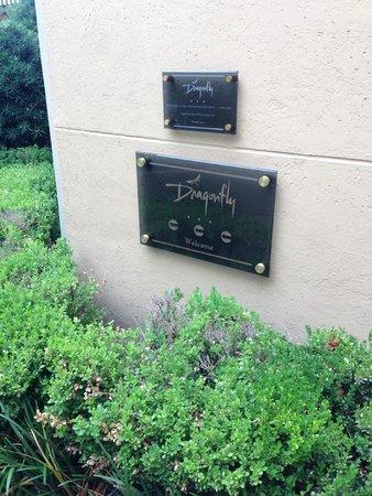 "Hotel ZaZa Dallas : Exterior Entrance to ""Dragonfly"" Restaurant and Bar"