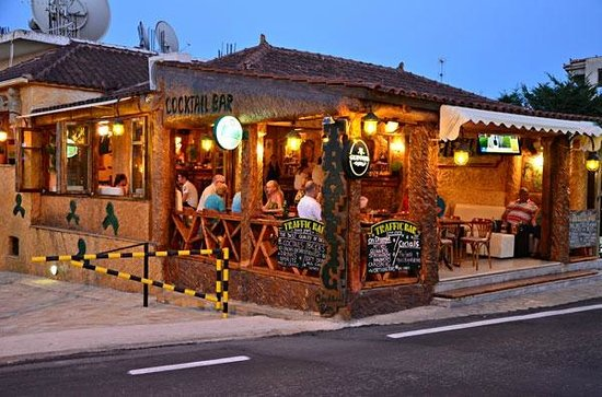 Tsilivi, Greece: Traffic bar