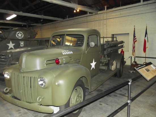 Texas Military Forces Museum: Firetrucks are always cool