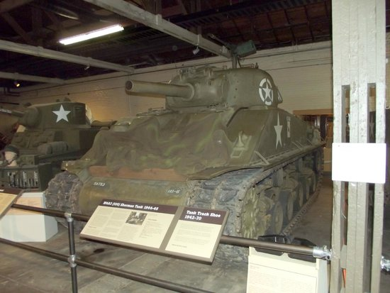 Texas Military Forces Museum: sherman tank