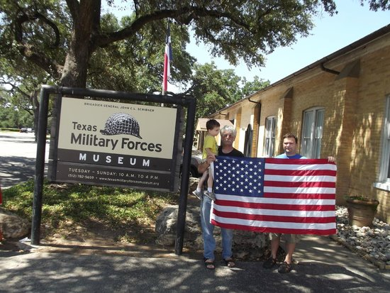 Texas Military Forces Museum: another Flag adventure