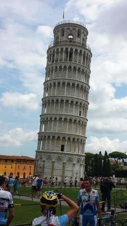 Der Schiefe Turm von Pisa: Bella molto suggestiva!