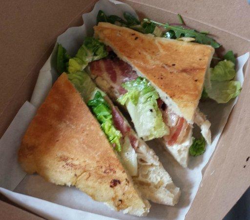 The Urban Shed: Roast Chicken, Cured Bacon, Baby Gem & Creme Fraiche