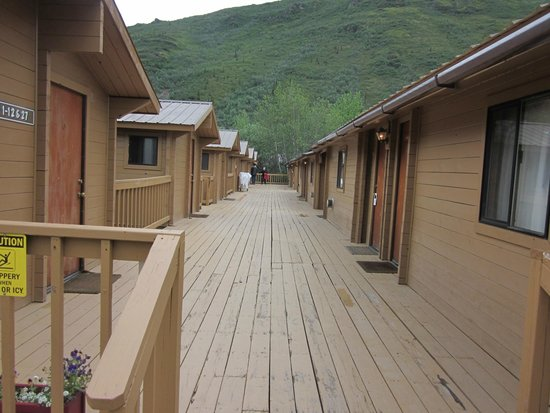 Denali Backcountry Lodge : Barracks-style rooms