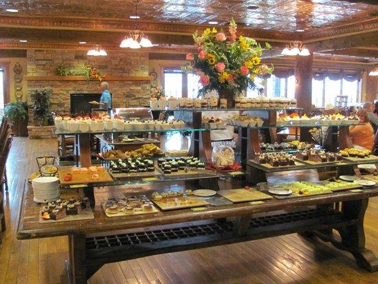 Dobyns Dining Room : Dessert choice overload!!!