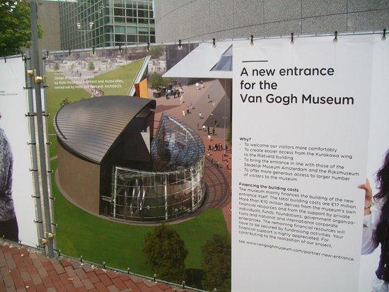 Van-Gogh-Museum: La nuova sede