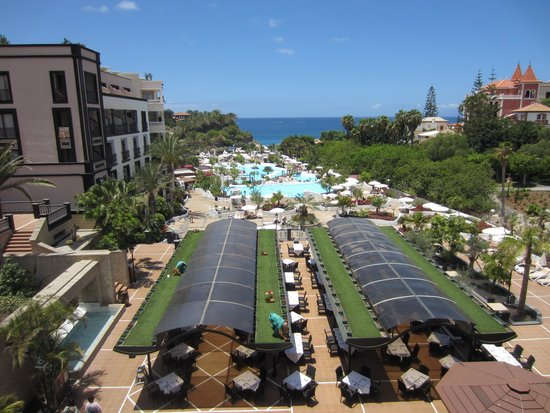 Gran Tacande Wellness & Relax Costa Adeje: view from balcony close up