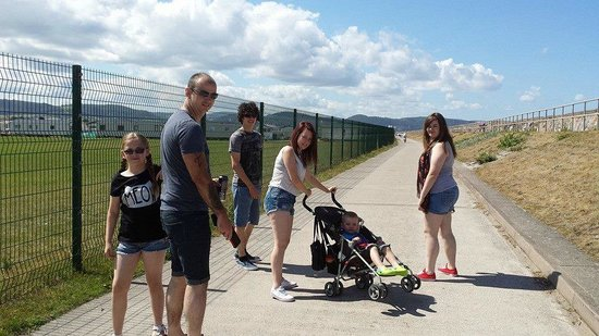 Golden Sands Holiday Park Rhyl: at the beach