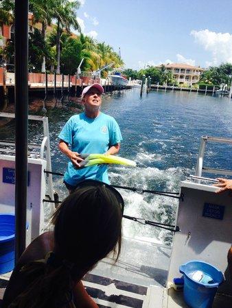 "Keys Diver Snorkel & Scuba: Deb, our ""first mate"""