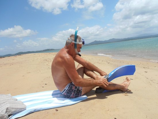Mission Beach Dunk Island Water Taxi: ready to snorkel