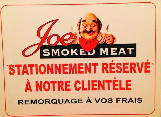Joe Smoked Meat : Tjs cordial le Joe