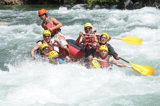 Rafting Sort Rubber River: descenso del rio