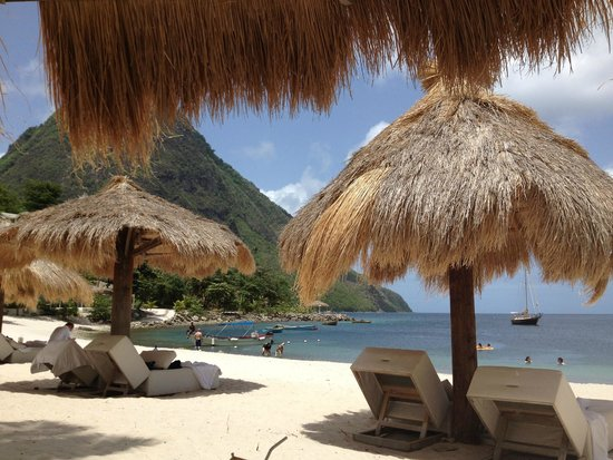 Sugar Beach, A Viceroy Resort: view from the cabanon room